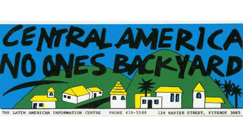 'Central America: no one's backyard', 1980s
