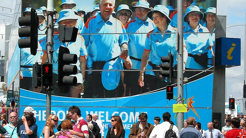 Melbourne during the 2006 games