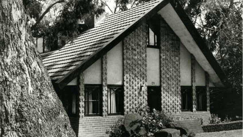 Eaglemont house designed by Walter Burley Griffin