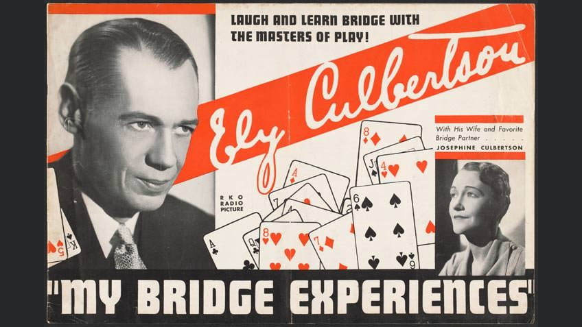 'My bridge experiences', by Ely Culbertson, 1933