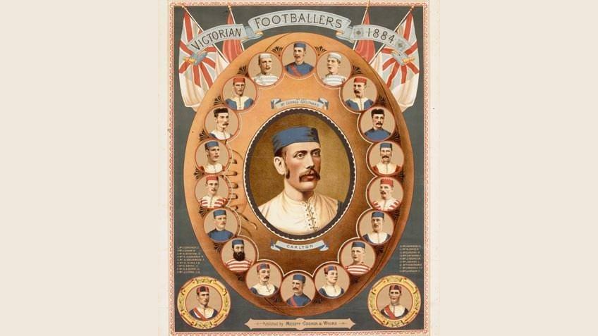 Victorian footballers, 1884