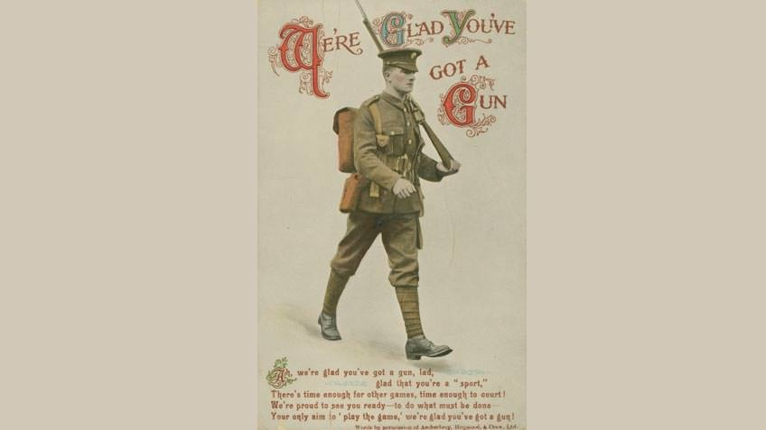 We're glad you've got a gun