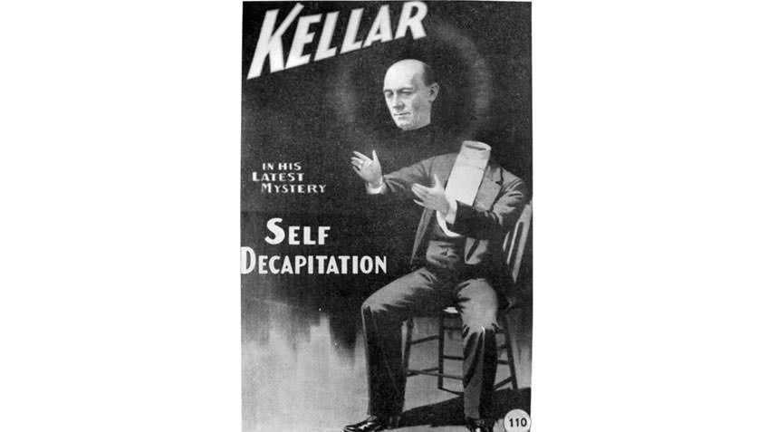 Poster for the magician Harry Kellar, WG Alma Conjuring Collection