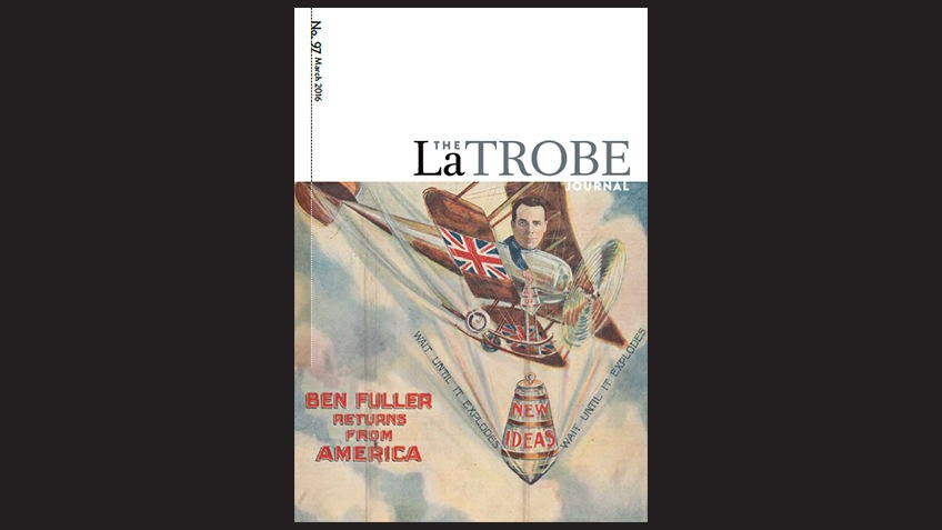 Cover of The La Trobe Journal - Issue 97