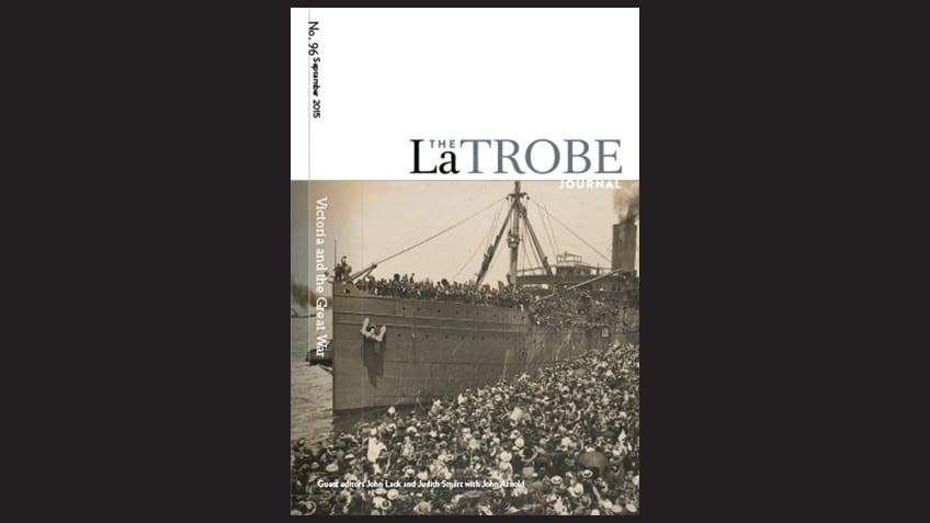 Cover of La Trobe Journal Issue No. 96