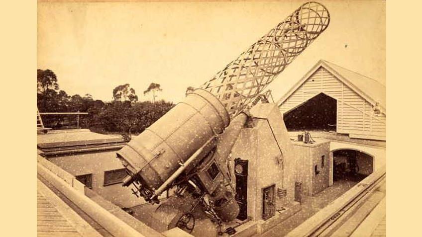 Great Melbourne telescope, c 1886