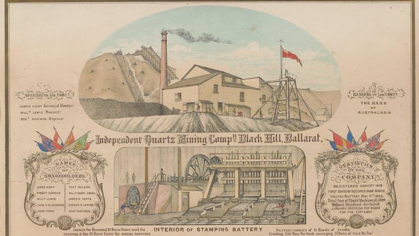 Independent Quartz Mining Company, 1863