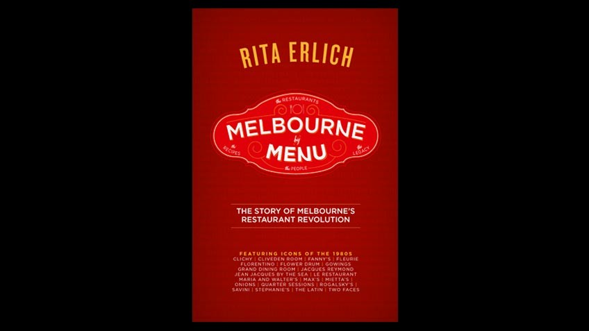 Cover of Melbourne by menu