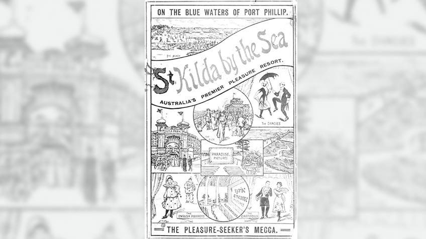 St Kilda by the sea, 1913