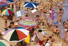 Brighton beach, Dacre Stubbs, digital print from an original colour transparency, 1967