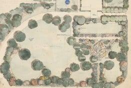 Edna Walling's garden plan for HJ Youngman Esq, Ardgarten, Grassdale, 1935