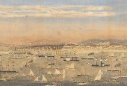 regatta in early Melbourne