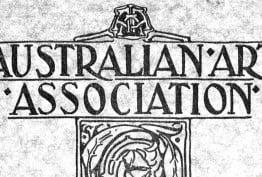 Australian Art Association catalogue, 1925