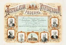 Australasian Federal Referendum, July 1899