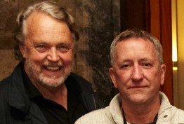 Portrait of Brenton Broadstock and Mike Brady