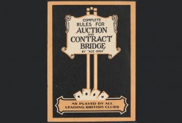 Complete rules for auction and contract bridge