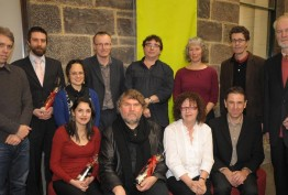 Group photo of Creative Fellows 2009