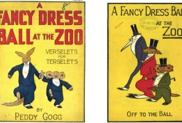 A fancy dress ball at the zoo, 1923