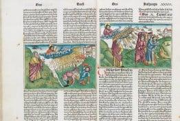 German bible, published by Anton Koberger, Nuremberg, 1483