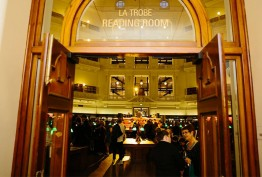 Photo of the entrance to the La Trobe Reading Room
