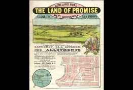 'The land of promise', Moreland Road, West Brunswick