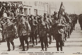 Victory march through London, 3rd May, 1919