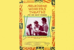 Poster promoting Melbourne Workers Theatre, 1988