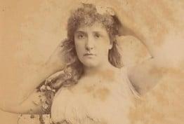 Nellie Melba as Ophelia in 'Hamlet'