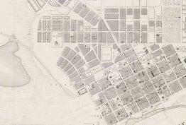 James Kearney's 1855 map of Melbourne