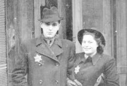 A wedding photo from Prague, 1942