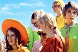 Rennie Ellis English models, Melbourne Cup 1967