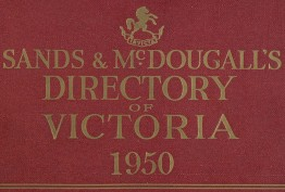 Sands & McDougall's Directory of Victoria 1950