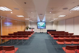 Photo of a seminar room