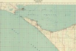 Topographic map of Sorrento, 1931