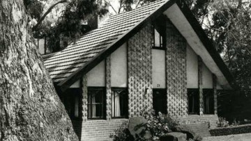 Eaglemont house designed by Walter Burley Griffin