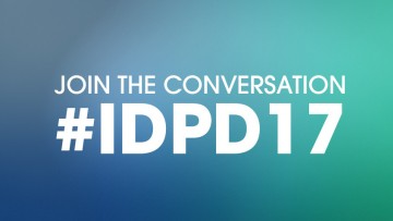 Join the conversation #IDPD17