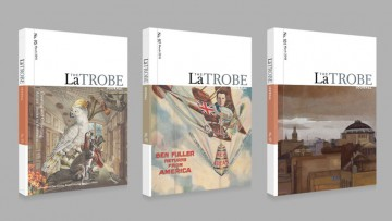 Three issues of the scholarly La Trobe Journal periodical