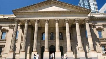 State Library portico