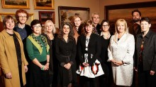 Photo of 2012 Creative Fellows with Minister for the Arts