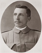 One of the inductees to the Media Hall of Fame featured in Media Legends, William Lambie c. 1899. Australian War Memorial.
