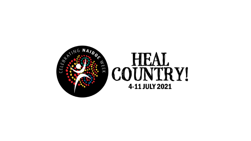 NAIDOC Week Heal Country theme smaller illustration