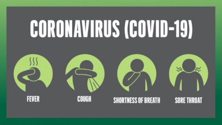 Graphic of Coronavirus COVID-19