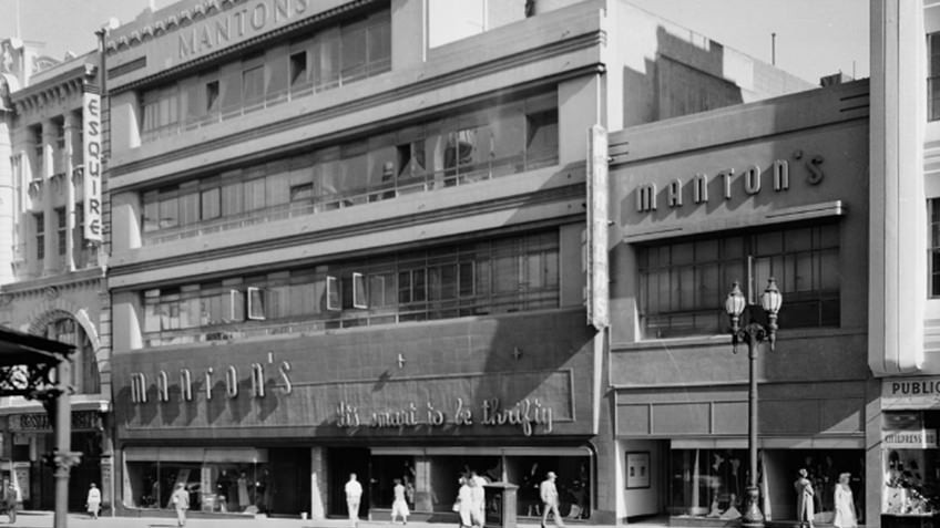 art deco department store