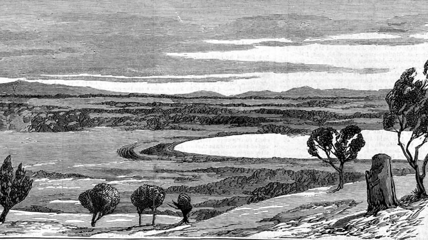 etching of wetlands