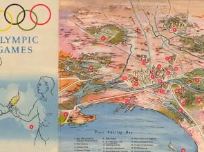 1956 Melbourne Olympics brochure