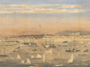 regatta in early Melbourne