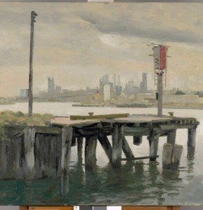 Rick Amor, view from Yarraville 1999