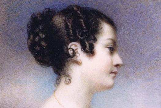 Georgiana McCrae, Self-portrait