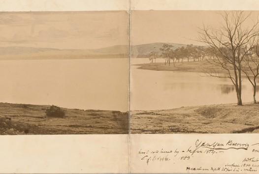 landscape of reservoir
