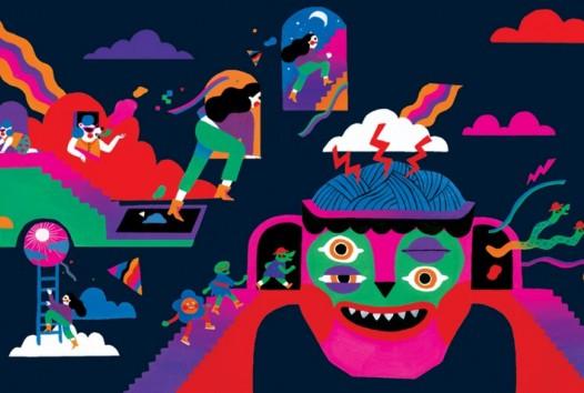 Colourful animation